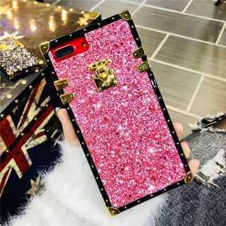 大人気!!お洒落なトランクケース型♡キラキラ✨ ピンク(iPhoneケース)