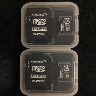 microSDカード 64GB 2個セット(PC周辺機器)