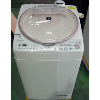 シャープ(SHARP)の●SHARP 洗濯乾燥機 ES-TX810 Ag+イオンコート ワイドマウス●(洗濯機)