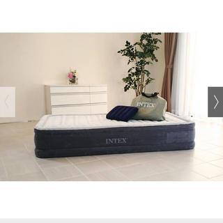 ディノス(dinos)のエアベッドダブル(簡易ベッド/折りたたみベッド)