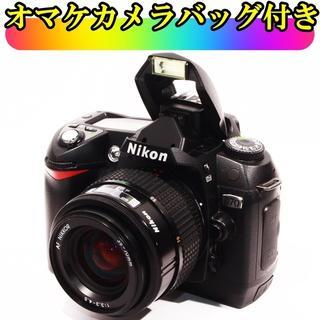 ★おまけカメラバッグ付★ニコン D70 レンズセット