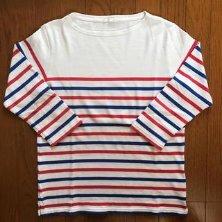 ジーユー(GU)のGU メンズ ボーダー(Tシャツ/カットソー(七分/長袖))
