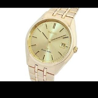 セイコー(SEIKO)のSEIKO グランドセイコー 9587-8010 デイト K18YG (腕時計(アナログ))