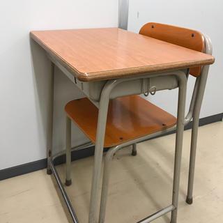 学校机と椅子のセット(学習机)