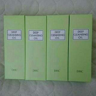 ディーエイチシー(DHC)の【新品未開封】  DHC薬用ディープクレンジングオイル(L)  200ml×4本(クレンジング / メイク落とし)