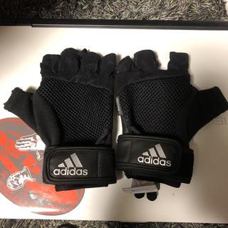 アディダス(adidas)のアディダストレーニンググローブ 筋トレ フィトネス(トレーニング用品)