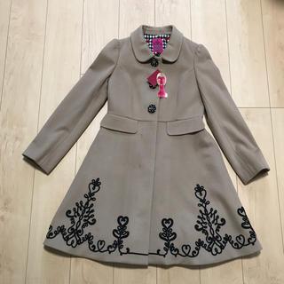 ドーリーガールバイアナスイ(DOLLY GIRL BY ANNA SUI)のANNA SUI キャメル コート 新品タグ付き(ロングコート)