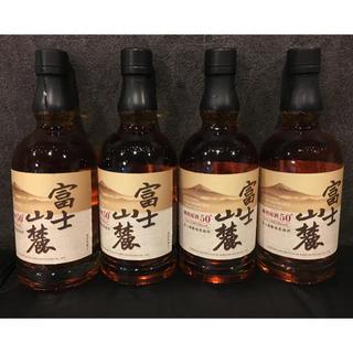 キリン(キリン)の富士山麓 樽熟原酒50度 700ml×4本 (ウイスキー)