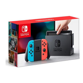 ニンテンドースイッチ(Nintendo Switch)の欲しいゲーム堂々1位☆ニンテンドースイッチ 本体 ネオンブルー/ ネオンレッド(携帯用ゲーム本体)