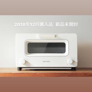 バルミューダ(BALMUDA)の送料込み 新品未開封 バルミューダ トースター ホワイト BALMUDA(調理機器)