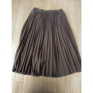 シマムラ(しまむら)のプリーツ スカート(ひざ丈スカート)
