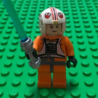 レゴ(Lego)のlego レゴ ミニフィグ ルークスカイウォーカー starwars パイロット(知育玩具)