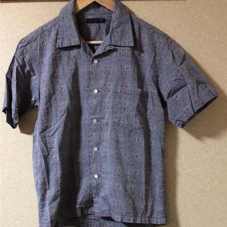 ガイジンメイド(GAIJIN MADE)のGAIJIN MADE 総柄開襟シャンブレー半袖シャツ(シャツ)