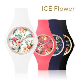 アイスウォッチ(ice watch)のアイスフラワーシリーズ レディース 防水(腕時計)