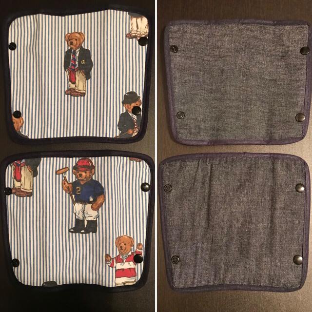 Ralph Lauren(ラルフローレン)のよだれカバー ハンドメイド ハンドメイドのキッズ/ベビー(外出用品)の商品写真