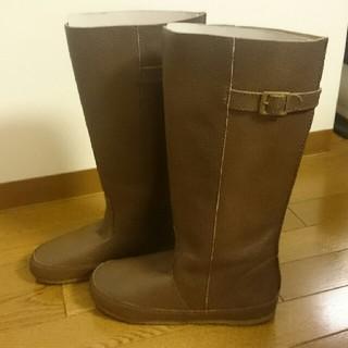 コース(KOOS)の【中古品・美品】本革リアルレザーKOOS風ロングブーツ(ブーツ)