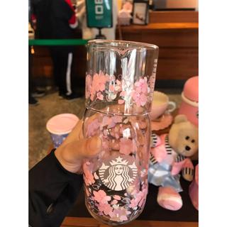 海外スターバックス 桜 ガラスピッチャー&グラス タンブラー ガラスボトル