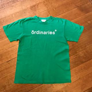 オールオーディナリーズ(ALL ORDINARIES)のALL ORDINARIES  Tシャツ グリーン★Mサイズ(Tシャツ/カットソー(半袖/袖なし))