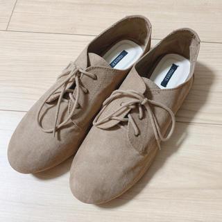 フォーエバートゥエンティーワン(FOREVER 21)の新品未使用♡フラットレースアップシューズ(ローファー/革靴)