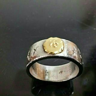 ゴローズ(goro's)のゴローズ 平打ちリング オールド品(リング(指輪))
