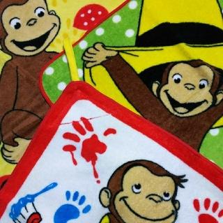 Disney - ループタオル おさるのジョージ  3枚セット