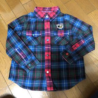 ランドリー(LAUNDRY)の値下げしました。LAUNDRYコットンシャツ120センチ(ブラウス)