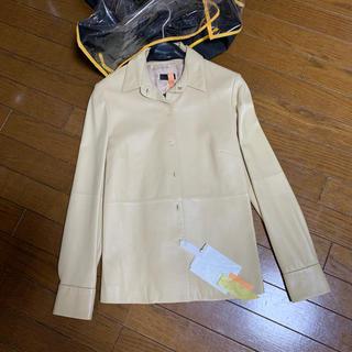ロエベ(LOEWE)のベージュ ブラウスの様なジャケット(シャツ/ブラウス(長袖/七分))