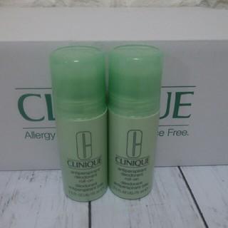 クリニーク(CLINIQUE)のクリニークデオドラント ロールオン2本セット(制汗/デオドラント剤)