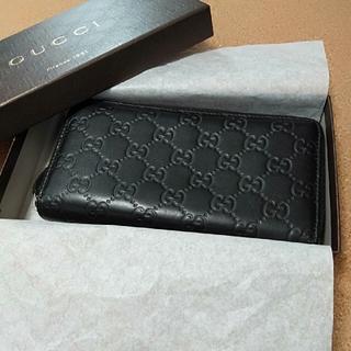 グッチ(Gucci)のGUCCI長財布ラウンドファスナー(長財布)