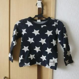 ムージョンジョン(mou jon jon)のムージョンジョン 星柄 Tシャツ 100(Tシャツ/カットソー)