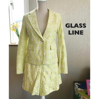 グラスライン(Glass Line)のGLASS LINE スーツ 新品タグ付き(スーツ)