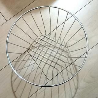 MUJI (無印良品) - 無印良品 ステンレス ワイヤーバスケット フルーツバスケット 廃盤品