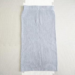ジーユー(GU)のニットスカート GU 春服(ひざ丈スカート)