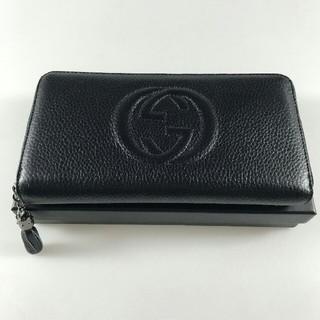 グッチ(Gucci)の良い評価再入荷 ソーホー Leather 長財布 ユニセックス グッチ ラウンド(長財布)