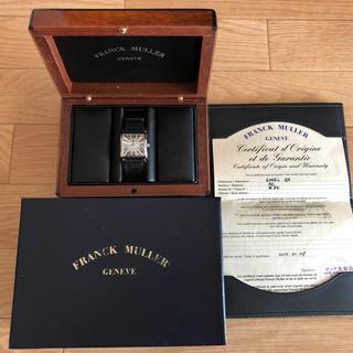 フランクミュラー(FRANCK MULLER)の★値下げ★フランクミュラー FRANCKMULLER 腕時計マスタースクエア時計(腕時計)