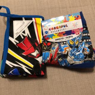 仮面ライダー ビルドパンツ2枚セットとルパンレンジャー タオル(下着)