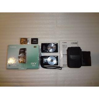 キヤノン(Canon)の2個セット!!Canon IXY120 動作確認済!!(コンパクトデジタルカメラ)