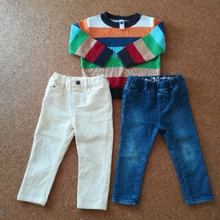 ベビーギャップ(babyGAP)のGAP マーキーズ セーター パンツ ズボン 90サイズ(パンツ/スパッツ)