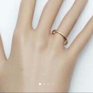 カルティエ(Cartier)のカルティエ美品クラシックリング未使用品フランス指輪ピンクゴールド(リング(指輪))