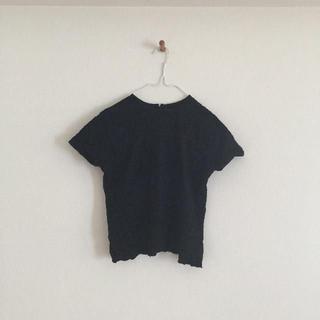 エスマイル(S.MILE)の新品・未使用 S.MILE レディース半袖カットソー 黒(Tシャツ(半袖/袖なし))