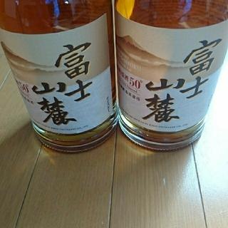 キリン(キリン)の富士山麓 2本プラス空き瓶1本(ウイスキー)