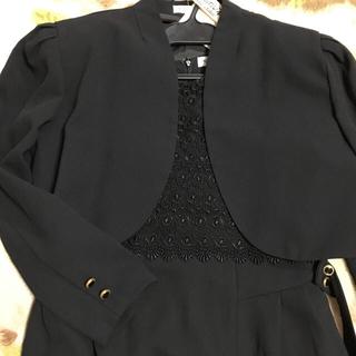 ニッセン(ニッセン)の黒レースワンピース(ボレロ付き)(その他ドレス)
