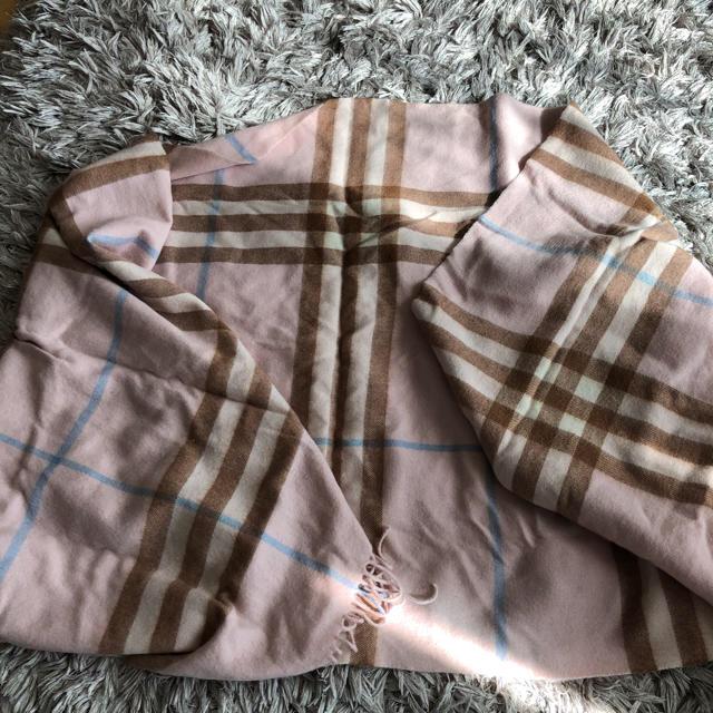 BURBERRY(バーバリー)のバーバリー ストール カシミア レディースのファッション小物(ストール/パシュミナ)の商品写真