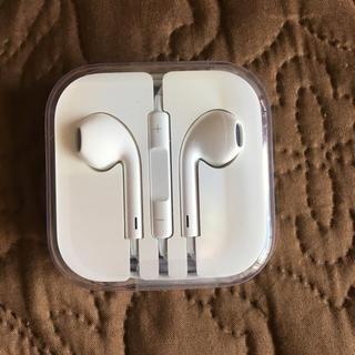 アイフォーン(iPhone)のiPhone イヤホン正規品(ヘッドフォン/イヤフォン)
