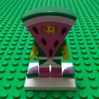 レゴ(Lego)のlego レゴ ミニフィグ スイカ男 スイカ 着ぐるみ legomovie 2(知育玩具)