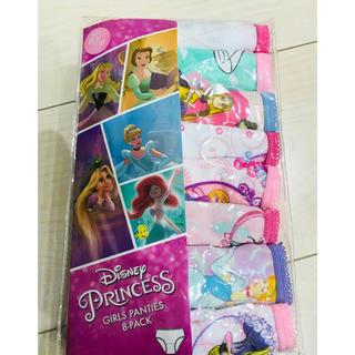 ディズニー(Disney)の新品 ディズニープリンセスパンツ 8枚セット 2〜3歳(下着)