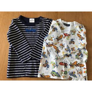 リトルベアークラブ(LITTLE BEAR CLUB)の長袖 シャツ カットソー 2枚まとめ売り べべ リトルベアークラブ(Tシャツ/カットソー)