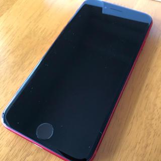 アップル(Apple)のiPhone8 64ギガ(限定レッド)(スマートフォン本体)