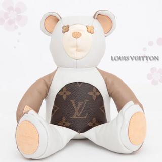 ルイヴィトン(LOUIS VUITTON)の新品★ルイヴィトン♡ドゥドゥルイホワイトテディベア♡白くまぬいぐるみ★プレゼント(ぬいぐるみ)
