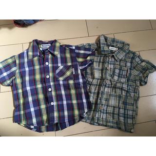 ムージョンジョン(mou jon jon)のムージョンジョン ビケット 90 シャツ 2枚(Tシャツ/カットソー)